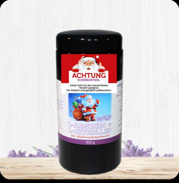 L-Arginin/ L-Citrullin Pulver 500g für Weihnachtsmänner - Scherzartikel