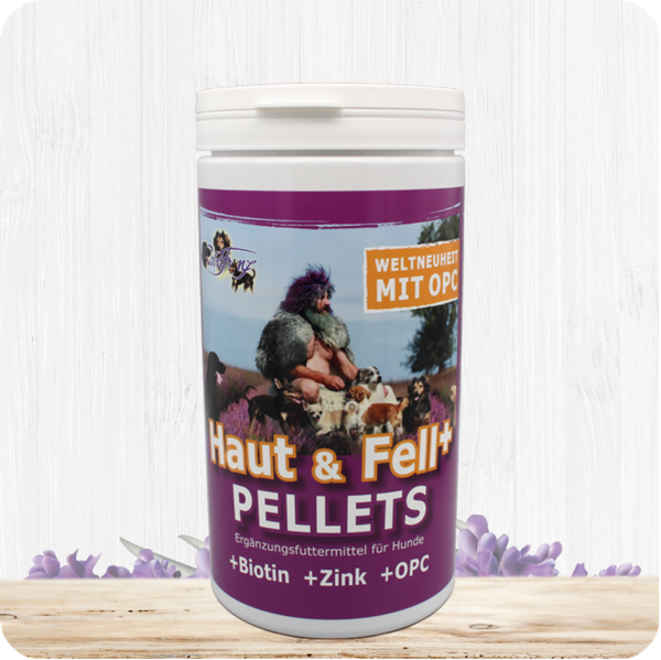 Haut & Fell Pellets + Biotin + Zink + OPC - 900g (nur für Hunde)