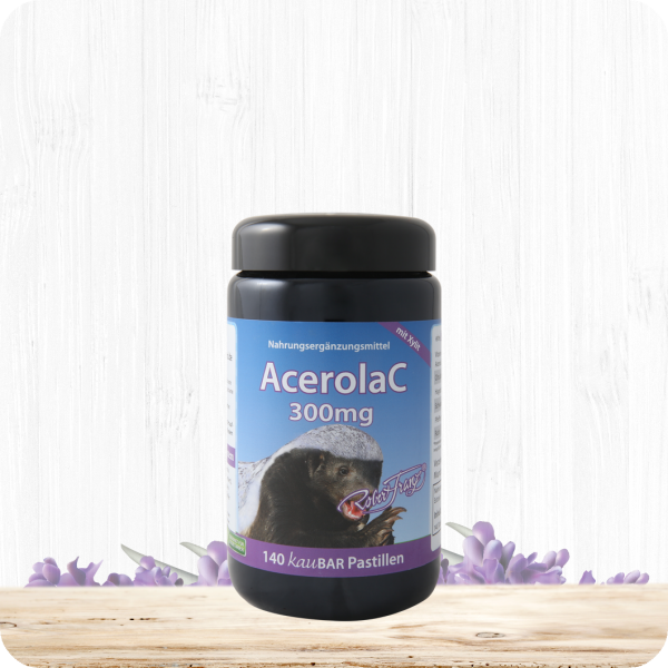 AcerolaC 300 mg - 140 kauBAR Pastillen