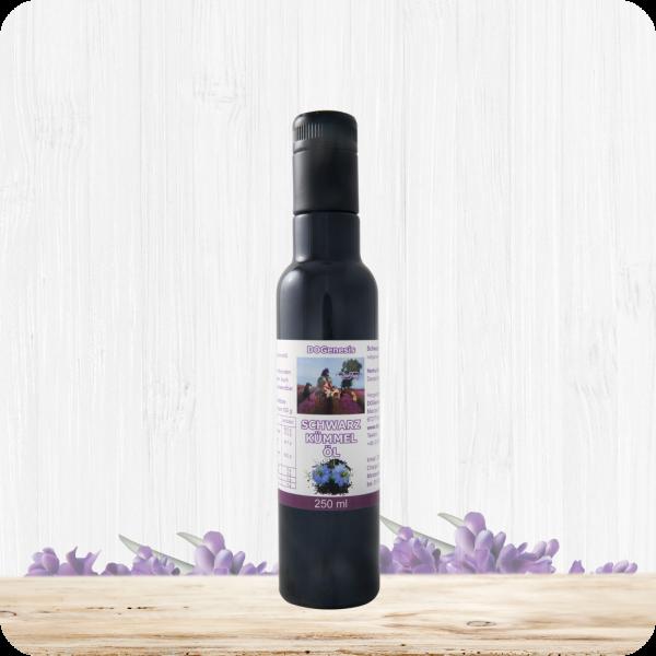 Bio-Schwarzkümmelöl - kaltgepresst - nativ - Hansemühle 250ml