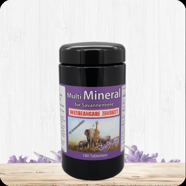 Multi Mineral für Savannentiere – 180 Tabletten