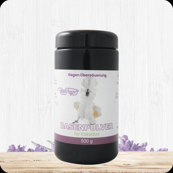 Basenpulver für Kakadus – 500g