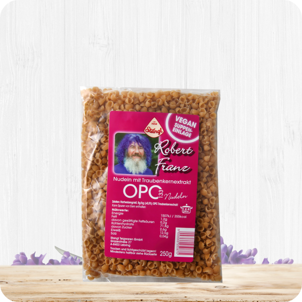OPC 133 Nudeln – Suppeneinlage – Vegan