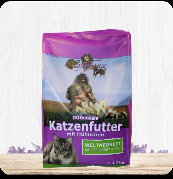DOGenesis Katzenfutter mit Hühnchen - Robert Franz 1.2 kg