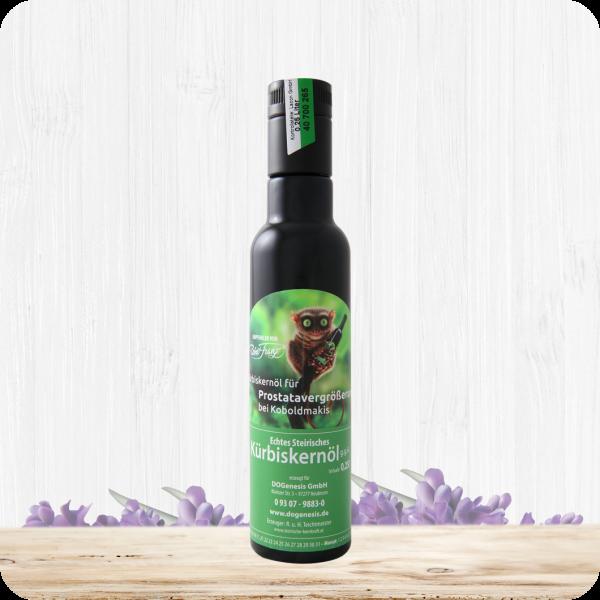 Kürbiskernöl für Prostatavergrößerung bei Koboldmakis – 250 ml