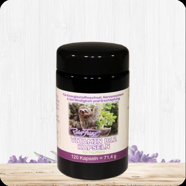 Vitamin B12 Kapseln für Faultiere - 120 Kapseln