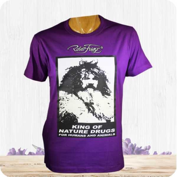 Größe M - Robert Franz - T-Shirt - King of Nature Drugs
