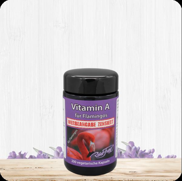Vitamin A für Flamingos – 200 Vegetarische Kapseln