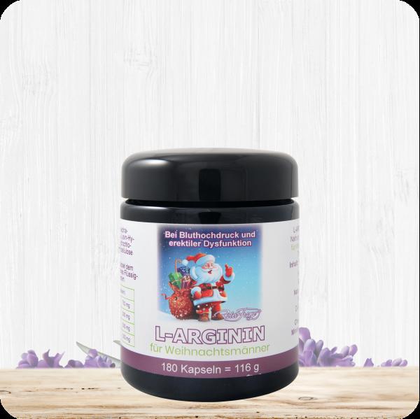 L-Arginin Kapseln für Weihnachtsmänner - 180 Kapseln