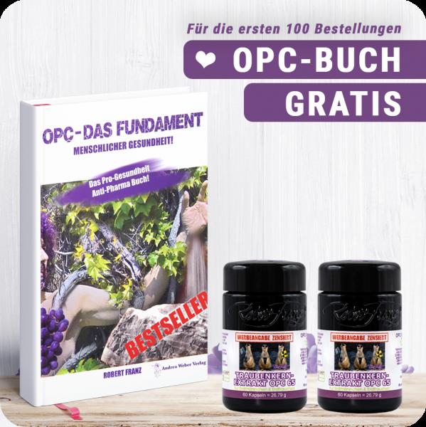 2er OPC 65 Set + GRATIS OPC Buch - Das Fundament der Gesundheit