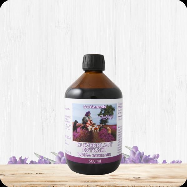 Olivenblattextrakt 100% – 500 ml – naturrein