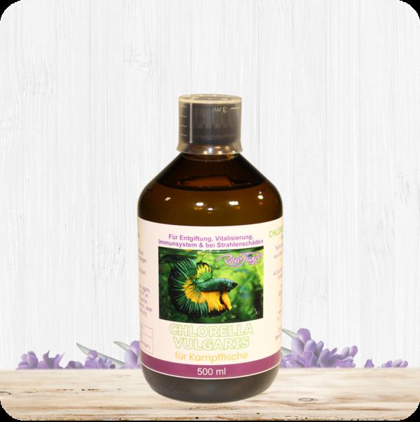 Chlorella Vulgaris für Kampffische – 500 ml