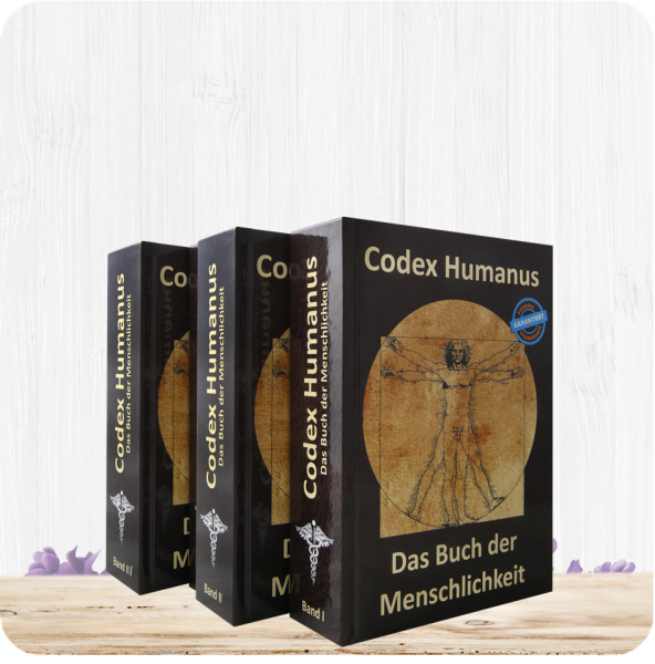 Codex Humanus Band 1 + 2 + 3