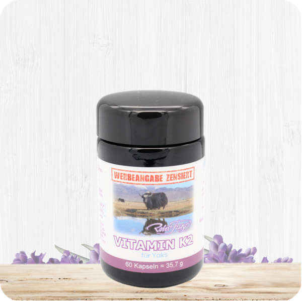 Vitamin K2 Kapseln für Yaks