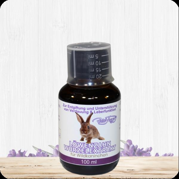 Löwenzahnwurzelextrakt für Wildkaninchen – 100 ml