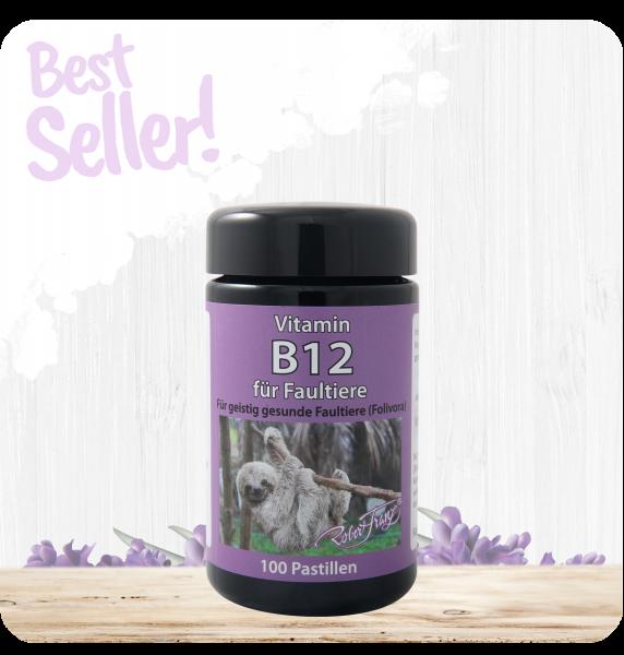 Vitamin B12 Pastillen für Faultiere - 100 Pastillen
