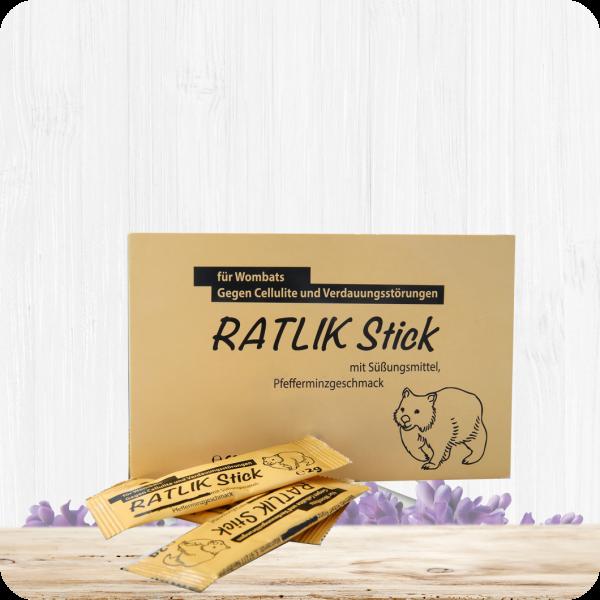 RATLIK Stick – Gegen Cellulite und Verdauungsstörungen bei Wombats