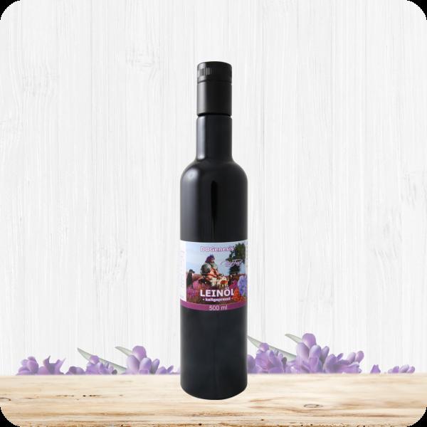 Bio Leinöl – Kaltgepresst – 500 ml