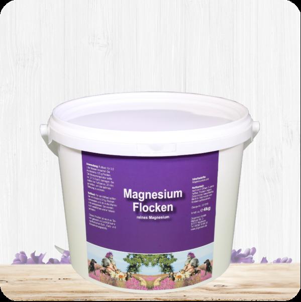Magnesium Flocken - 4 kg Eimer