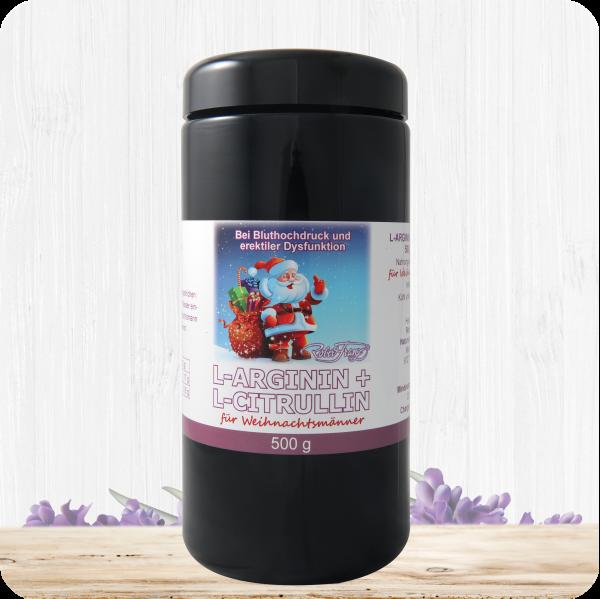 L-Arginin/ L-Citrullin Pulver 500g für Weihnachtsmänner